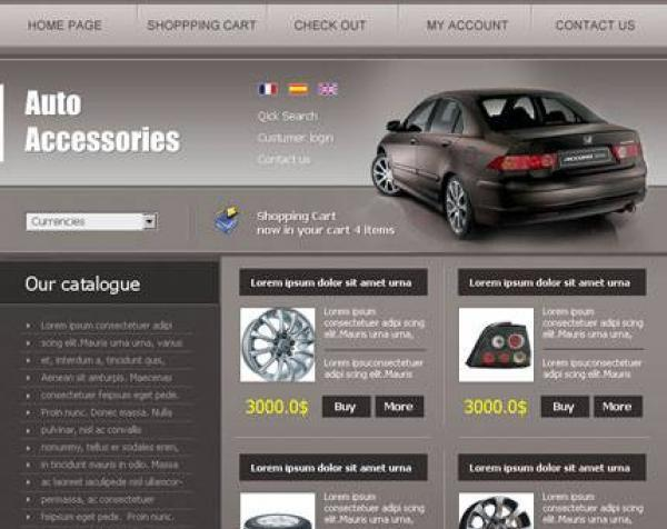 osCommerce Auto Accessories