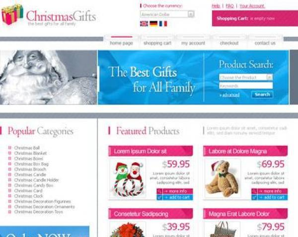 osCommerce Christmas Gifts