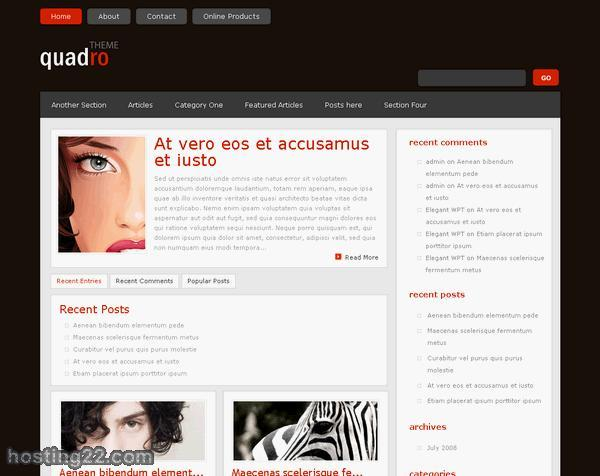 Quodro Premium WordPress Theme