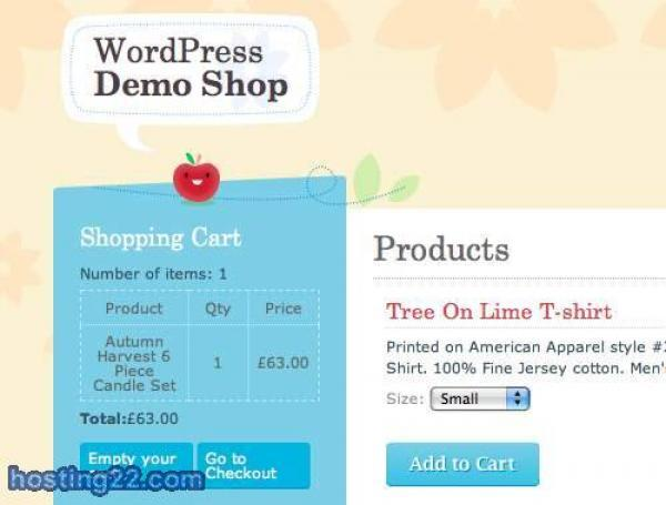 Crafty Cart WordPress e-Commerce Theme