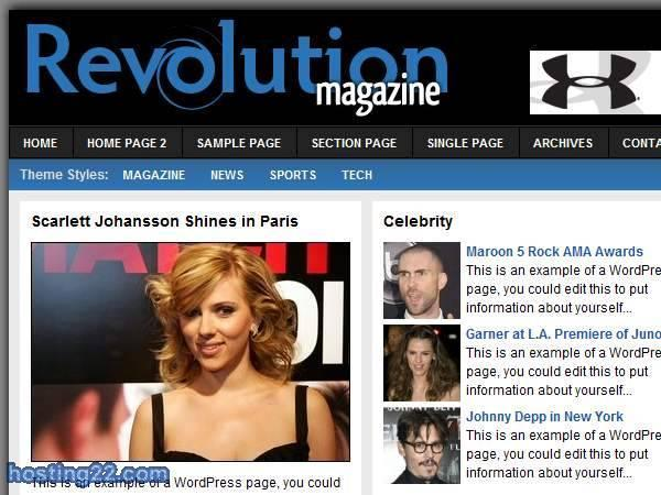 Revolution Magazine v3.0 Premium Wordpress Theme