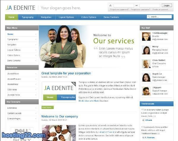 JA Edenite - Professional Corporate Identity