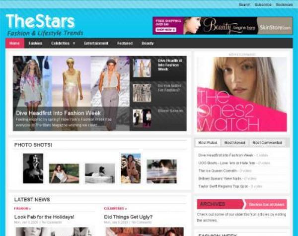 The Stars - Premium WordPress Theme