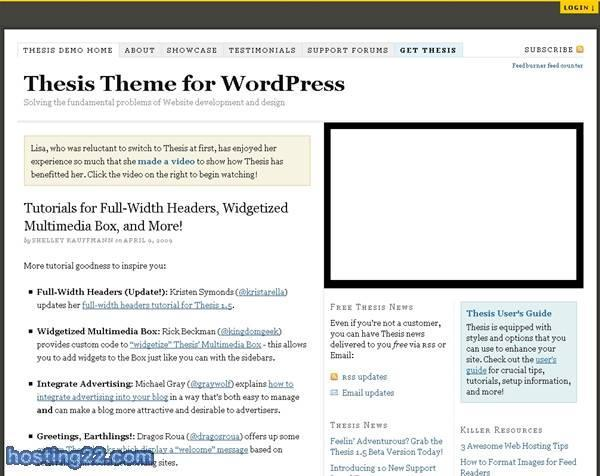 Thesis Theme v1.4.2 Premium Wordpress Themes