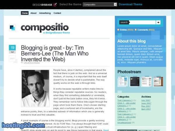 Compositio - WordPress Theme