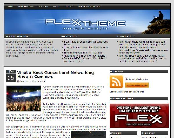 Flexx ITheme Mega WP Blog Theme