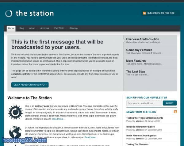 The Station Premium Wordpress Themes
