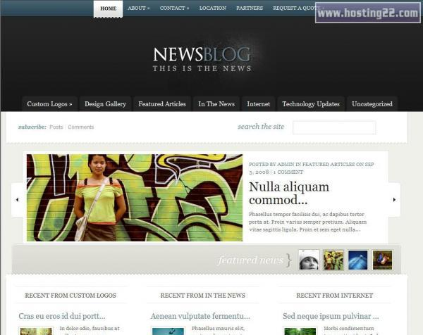 ENews Elegant Premium WordPress ThemeElegantThemesWordpresswww - E news template