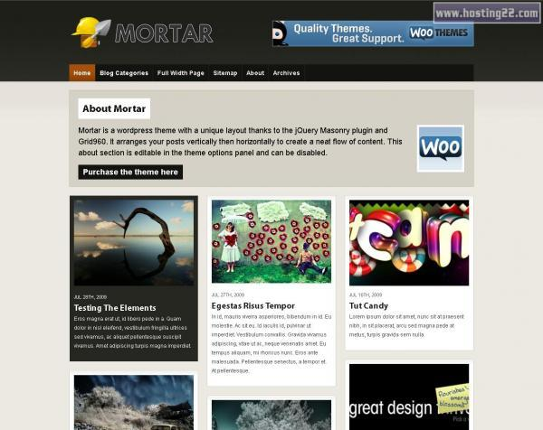 Mortar Premium Wordpress Theme
