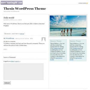 thesis register widget Learn to add footer widget areas in thesis theme for wordpress.